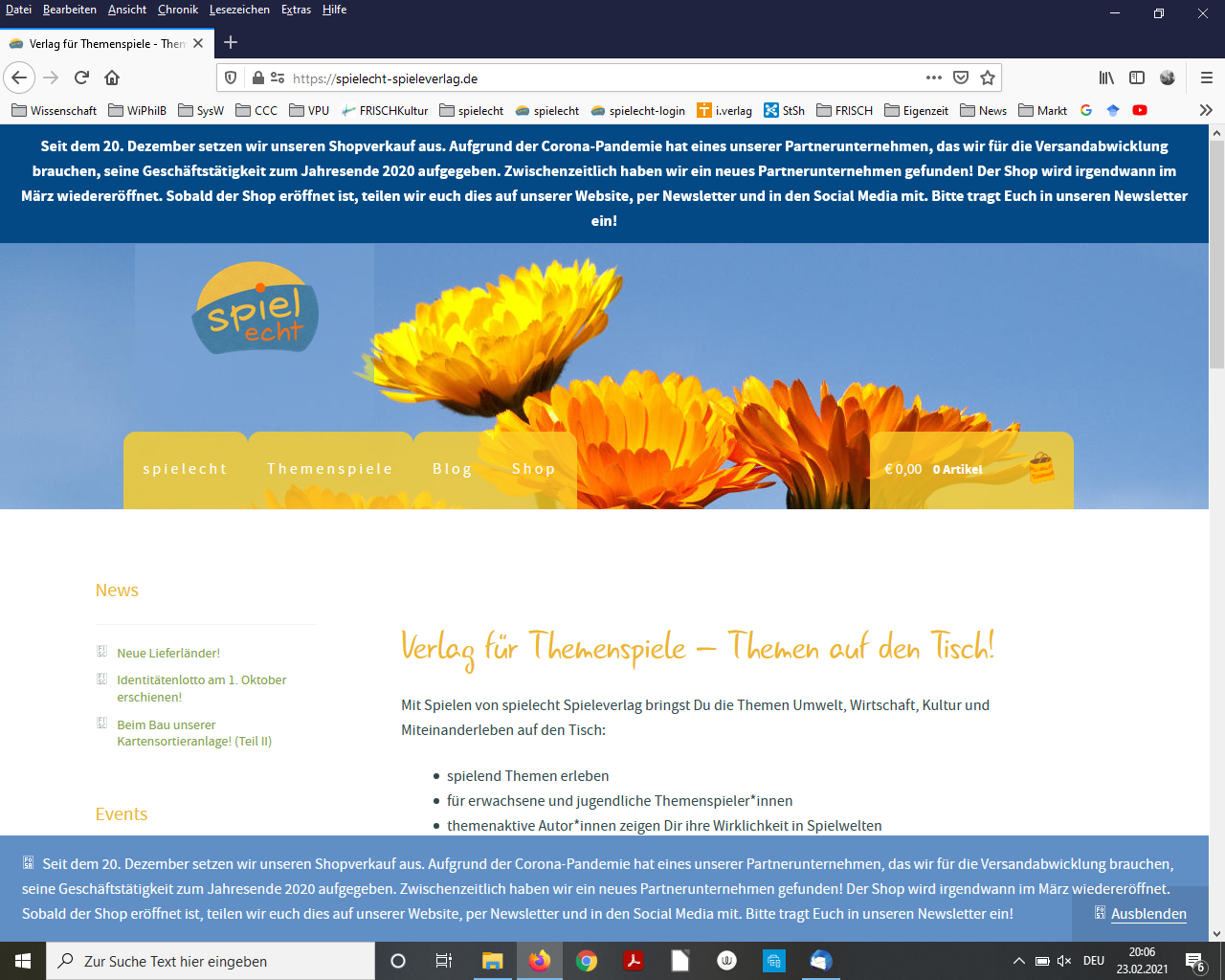 Website spielecht Spieleverlag